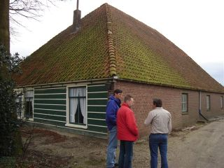 Farm house at IJweg no 821 in the Haarlemmermeerpolder